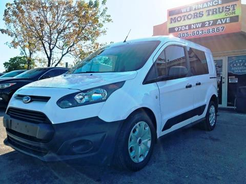 2016 Ford Transit Connect Cargo for sale in Miami, FL