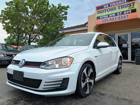2017 Volkswagen Golf GTI for sale in Miami, FL