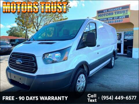 2018 Ford Transit Cargo 250 for sale at Motors Trust in Miami FL