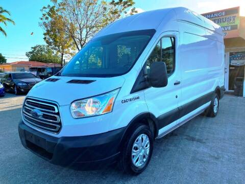 2015 Ford Transit Cargo 250 for sale at Motors Trust in Miami FL