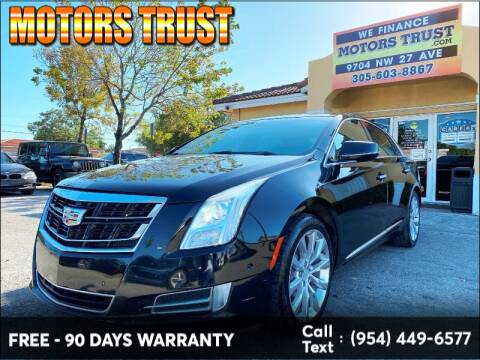2016 Cadillac XTS Luxury for sale at Motors Trust in Miami FL