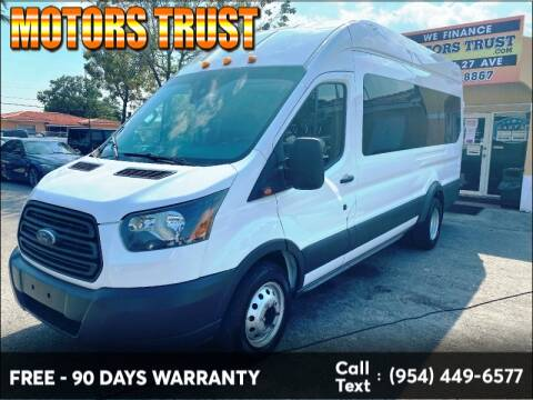 2017 Ford Transit Passenger for sale at Motors Trust in Miami FL