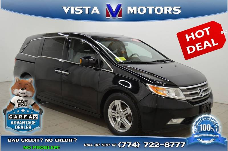 2011 Honda Odyssey For Sale At Vista Motors In West Bridgewater MA