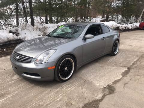 Used Infiniti G35 >> Used Infiniti G35 For Sale In Hudson Nh Carsforsale Com