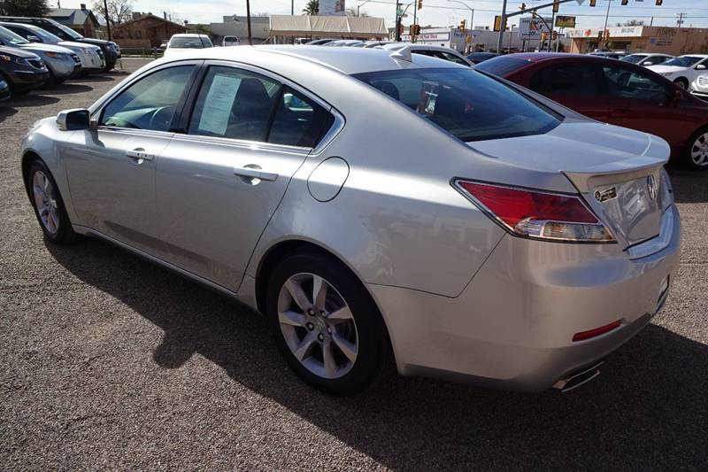 2013 Acura TL 4dr Sedan w/Technology Package - Tucson AZ