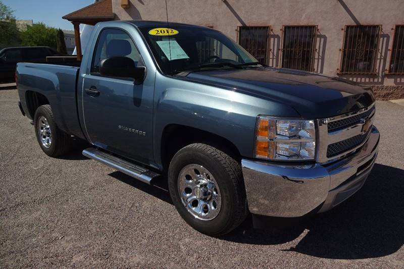 2012 Chevrolet Silverado 1500 4x2 Work Truck 2dr Regular Cab 6.5 ft. SB - Tucson AZ