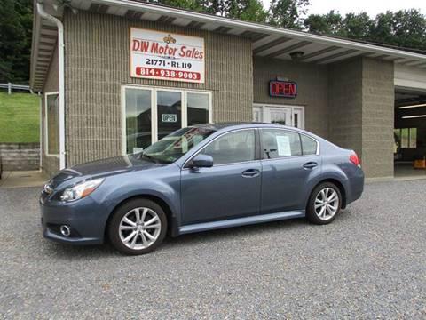 2013 Subaru Legacy for sale in Punxsutawney PA