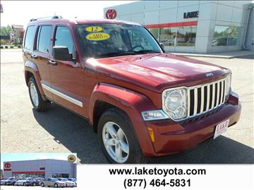 2012 Jeep Liberty for sale in Devils Lake, ND