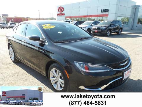 2016 Chrysler 200 for sale in Devils Lake, ND