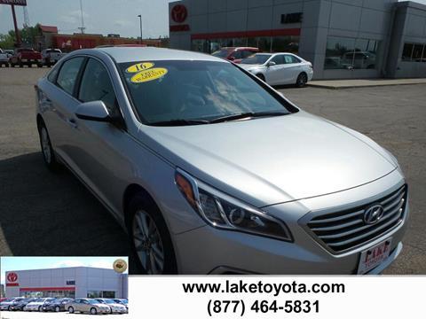 2016 Hyundai Sonata for sale in Devils Lake, ND