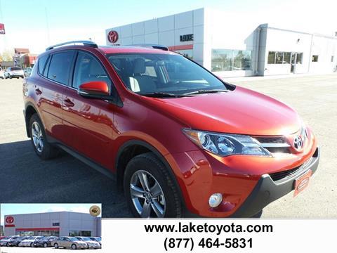 2015 Toyota RAV4 for sale in Devils Lake ND