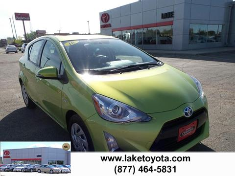 2016 Toyota Prius c for sale in Devils Lake, ND