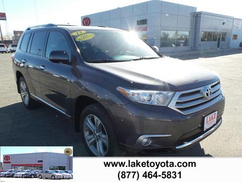 2013 Toyota Highlander for sale in Devils Lake, ND