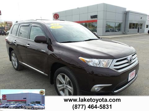 2012 Toyota Highlander for sale in Devils Lake ND