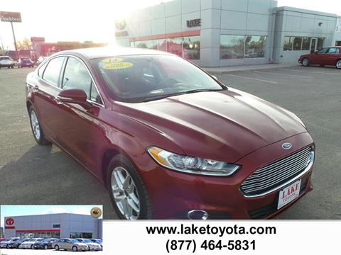 2014 Ford Fusion for sale in Devils Lake, ND