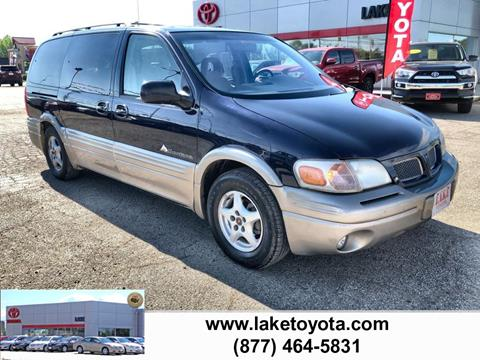 2000 Pontiac Montana for sale in Devils Lake, ND