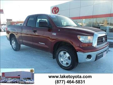 2007 Toyota Tundra for sale in Devils Lake, ND