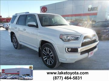 2016 Toyota 4Runner for sale in Devils Lake, ND