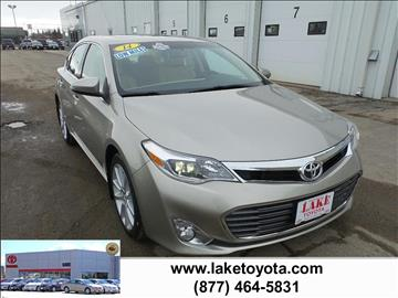 2014 Toyota Avalon for sale in Devils Lake, ND