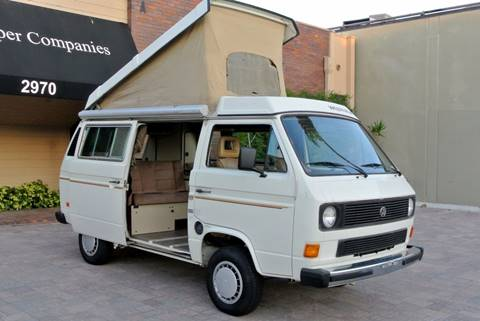 1985 Volkswagen Vanagon for sale at Newport Motor Cars llc in Costa Mesa CA