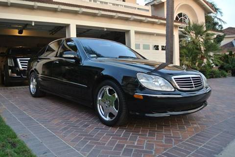2002 Mercedes-Benz S-Class for sale at Newport Motor Cars llc in Costa Mesa CA