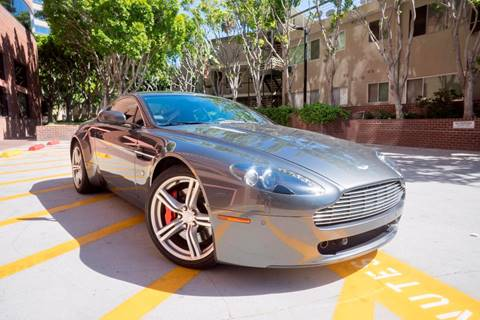 2009 Aston Martin V8 Vantage for sale at Newport Motor Cars llc in Costa Mesa CA
