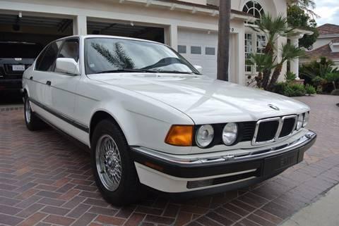 1990 BMW 7 Series for sale at Newport Motor Cars llc in Costa Mesa CA