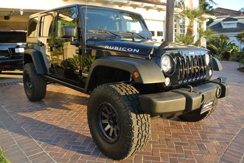 2017 Jeep Wrangler Unlimited for sale at Newport Motor Cars llc in Costa Mesa CA