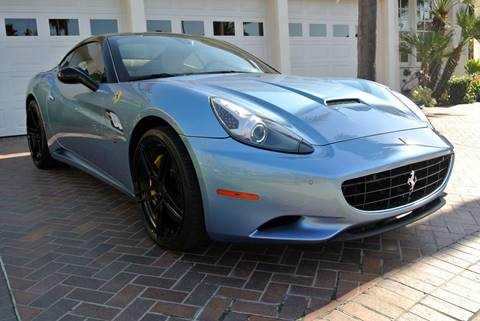 2012 Ferrari California for sale at Newport Motor Cars llc in Costa Mesa CA