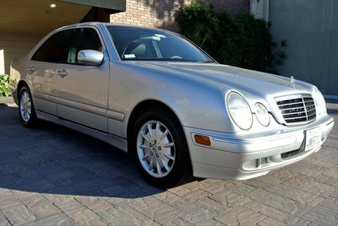 2001 Mercedes-Benz E-Class for sale at Newport Motor Cars llc in Costa Mesa CA