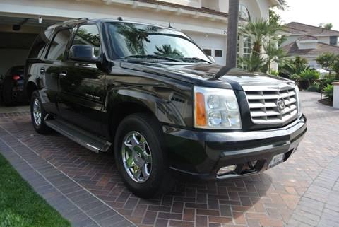 2005 Cadillac Escalade for sale at Newport Motor Cars llc in Costa Mesa CA