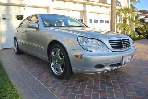 2000 Mercedes-Benz S-Class for sale at Newport Motor Cars llc in Costa Mesa CA