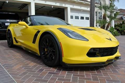 2016 Chevrolet Corvette for sale at Newport Motor Cars llc in Costa Mesa CA