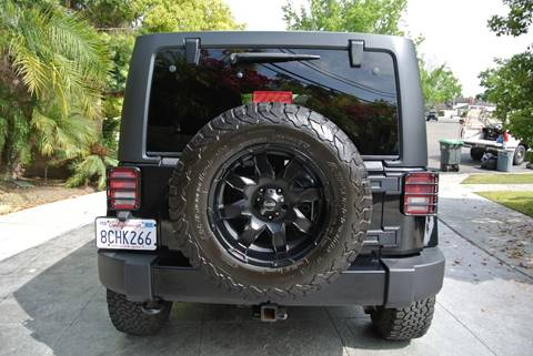 2012 Jeep Wrangler Unlimited for sale at Newport Motor Cars llc in Costa Mesa CA