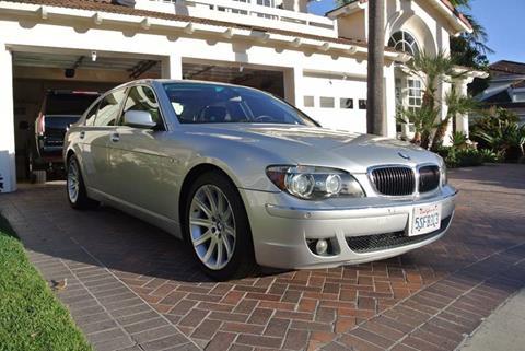2006 BMW 7 Series for sale at Newport Motor Cars llc in Costa Mesa CA