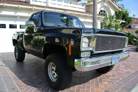 1978 Chevrolet C/K 10 Series for sale at Newport Motor Cars llc in Costa Mesa CA