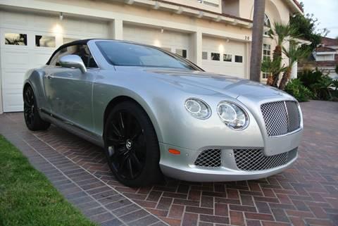 2012 Bentley Continental for sale at Newport Motor Cars llc in Costa Mesa CA