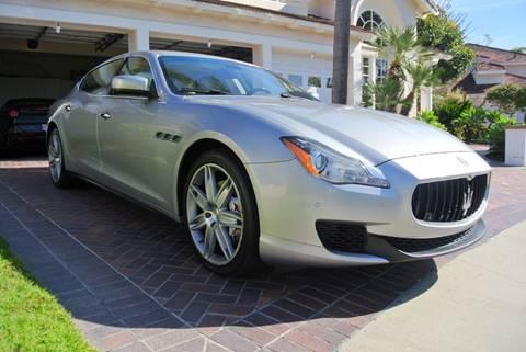 2014 Maserati Quattroporte for sale at Newport Motor Cars llc in Costa Mesa CA