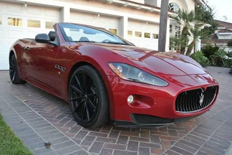 2012 Maserati GranTurismo for sale at Newport Motor Cars llc in Costa Mesa CA