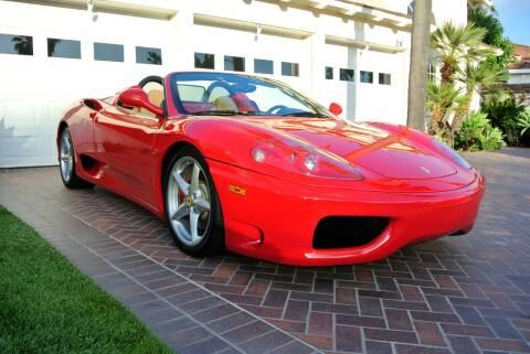 2005 Ferrari 360 Spider for sale at Newport Motor Cars llc in Costa Mesa CA