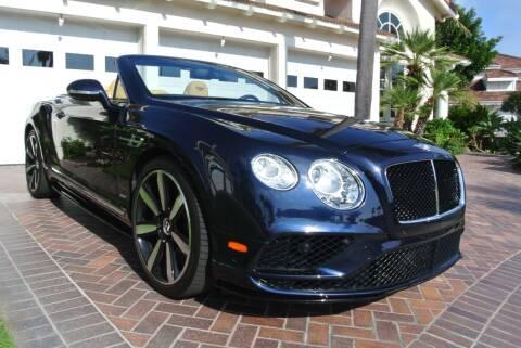2017 Bentley Continental for sale at Newport Motor Cars llc in Costa Mesa CA