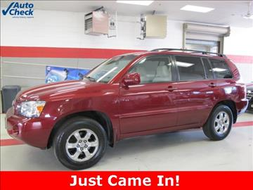 2007 Toyota Highlander for sale in Racine, WI