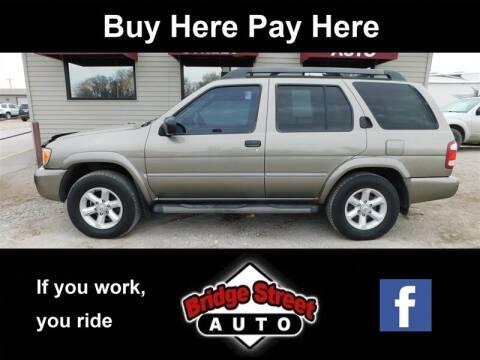 2003 Nissan Pathfinder LE for sale at Bridge Street Auto in Lexington NE