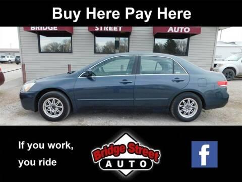 2004 Honda Accord LX for sale at Bridge Street Auto in Lexington NE