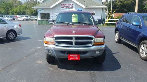 2002 Dodge Dakota for sale at Righteous Autos in Racine WI