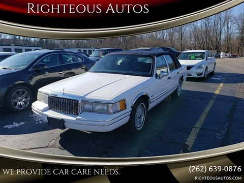 1994 Lincoln Town Car For Sale Carsforsale Com