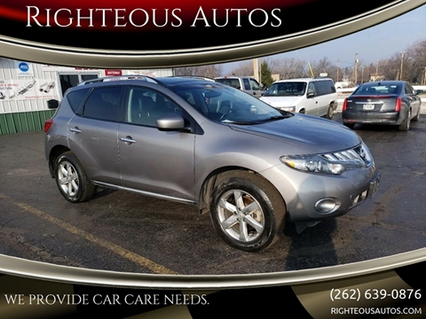 2010 Nissan Murano for sale at Righteous Autos in Racine WI