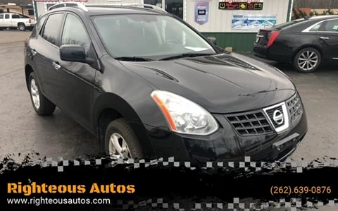 2010 Nissan Rogue for sale at Righteous Autos in Racine WI