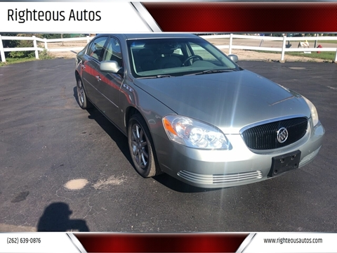 2006 Buick Lucerne for sale at Righteous Autos in Racine WI