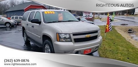 2007 Chevrolet Suburban for sale at Righteous Autos in Racine WI